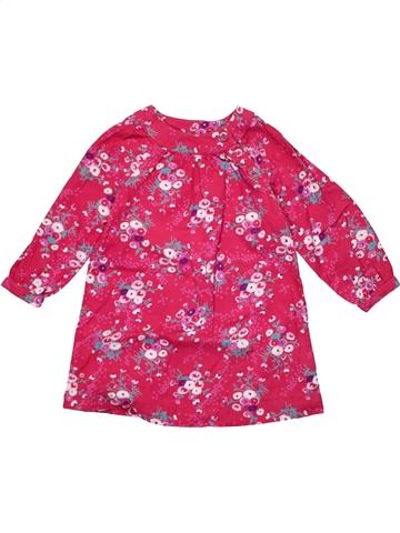 Vestido niña MOTHERCARE rosa 4 años invierno #1203725_1