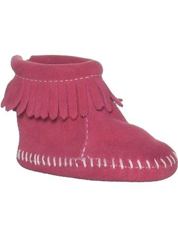 Chaussures bébé fille MINNETONKA rose 9 mois hiver #1212809_1