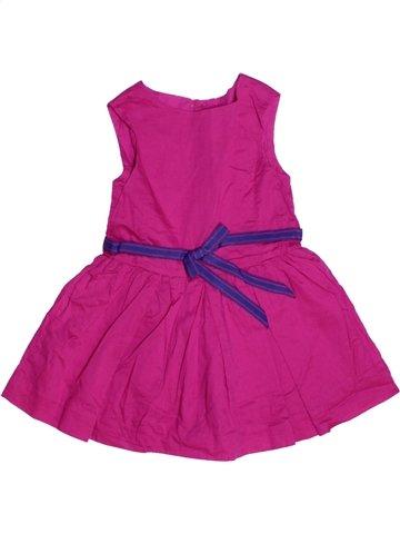 Robe fille JACADI rose 2 ans été #1215508_1