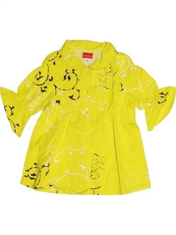 Blusa de manga larga niña MARÈSE amarillo 2 años verano #1216742_1