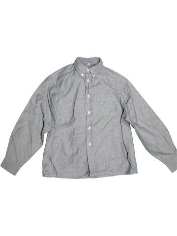 Camisa de manga larga niño CYRILLUS gris 10 años invierno #1220530_1