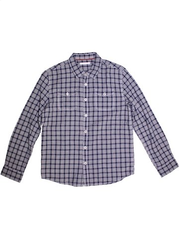 Camisa de manga larga niño MONOPRIX azul 10 años invierno #1221272_1