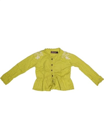 Gilet fille JEAN BOURGET vert 3 ans hiver #1221421_1