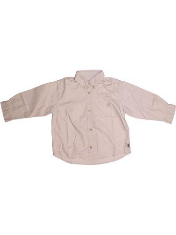 Camisa de manga larga niño TIMBERLAND rosa 3 años invierno #1221953_1
