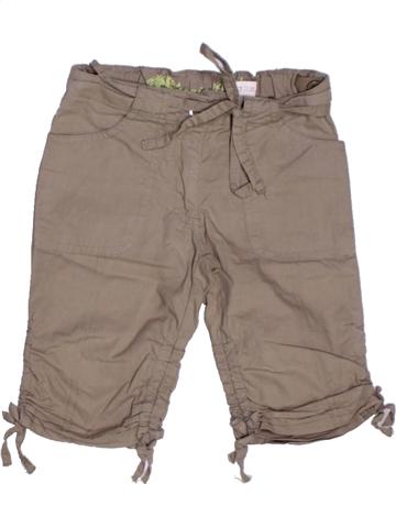 Pantalón corto niña VYNIL FRAISE marrón 2 años verano #1222580_1