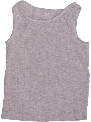 Top - Camiseta de tirantes niño BOUT'CHOU gris 3 años verano #1222797_1