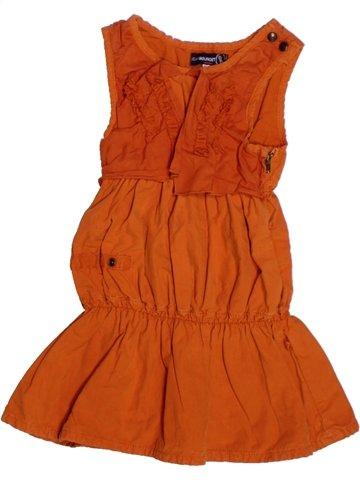 Vestido niña JEAN BOURGET naranja 2 años verano #1224243_1
