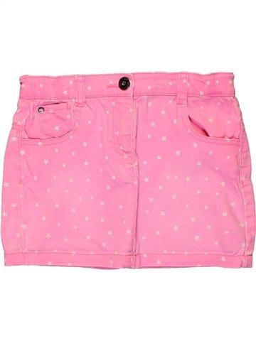 Falda niña 3 POMMES rosa 12 años verano #1224594_1