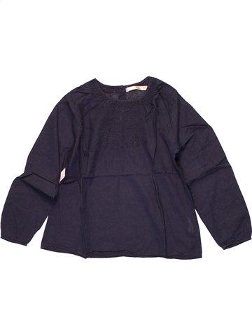 Blusa de manga larga niña CFK azul 8 años invierno #1225144_1