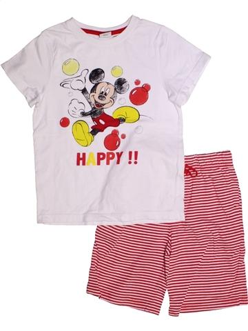 Pijama de 2 piezas niño DISNEY blanco 6 años verano #1225440_1