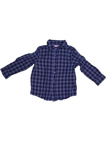 Camisa de manga larga niño MONOPRIX azul 3 años invierno #1226105_1