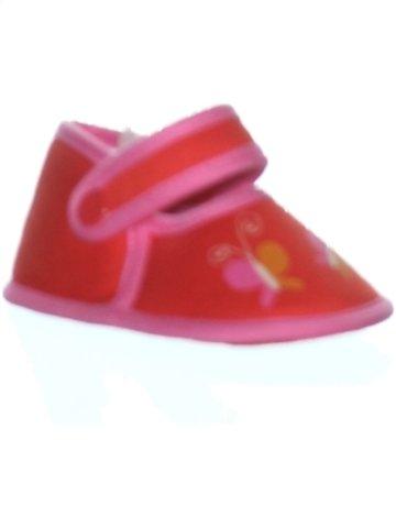 Chaussures bébé fille DDP rouge 3 mois été #1226611_1