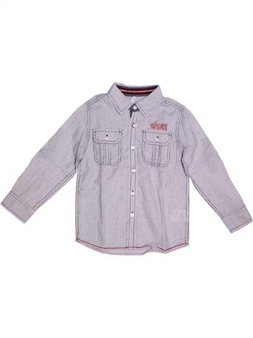 Camisa de manga larga niño GEMO gris 5 años invierno #1227288_1