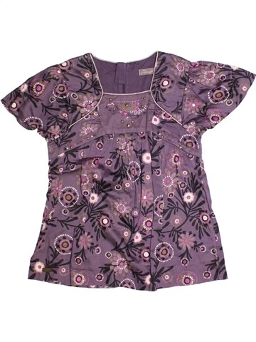 Blusa de manga corta niña JEAN BOURGET violeta 14 años verano #1228726_1
