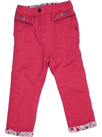 Pantalon fille SERGENT MAJOR rose 2 ans hiver #1228898_1
