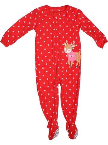 Robe de chambre fille CARTER'S rouge 2 ans hiver #1229682_1