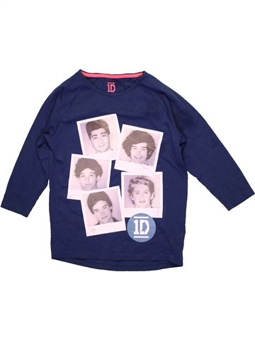 T-shirt manches longues fille ONE DIRECTION blanc 11 ans hiver #1231642_1