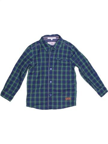Chemise manches longues garçon JASPER CONRAN bleu 5 ans hiver #1231918_1
