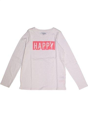 T-shirt manches longues fille OSH KOCH B'GOSH blanc 12 ans hiver #1232809_1