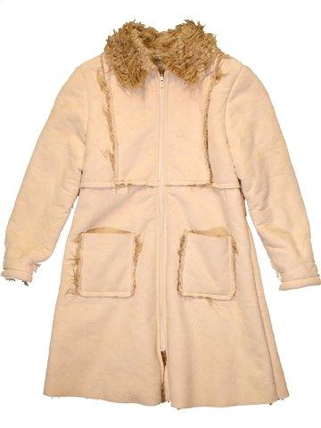Manteau fille IANA beige 9 ans hiver #1233027_1