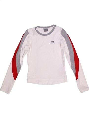 T-shirt manches longues fille NIKE blanc 10 ans hiver #1233605_1