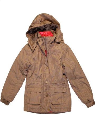 Manteau fille TCHIBO marron 10 ans hiver #1233817_1