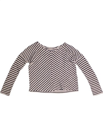 Pull fille DUNNES STORES rose 5 ans hiver #1234816_1