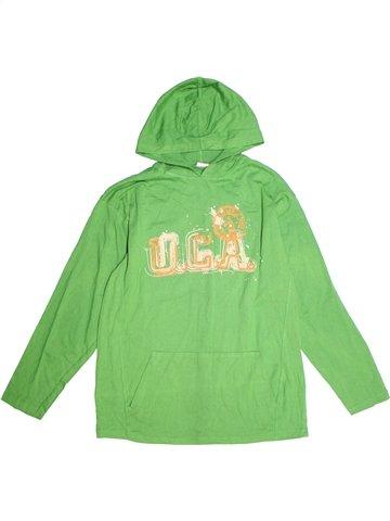 T-shirt manches longues garçon CHEROKEE vert 14 ans hiver #1234834_1
