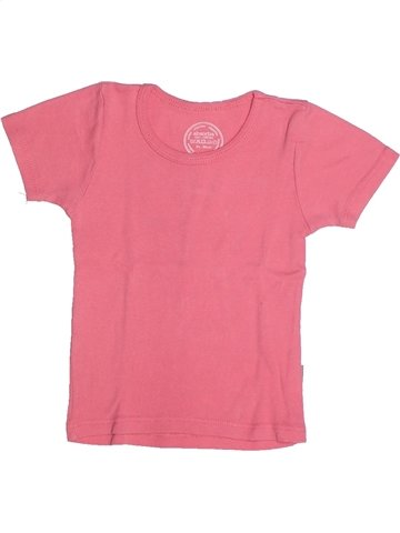 Camiseta de manga corta niña ABSORBA rosa 2 años verano #1235545_1