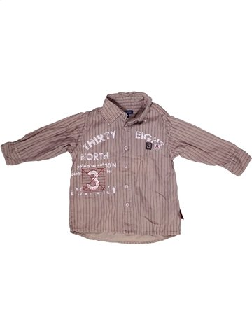Camisa de manga larga niño TERRE DE MARINS rosa 2 años invierno #1237599_1