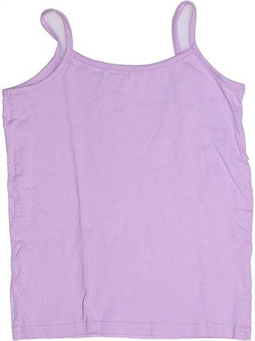 T-shirt sans manches fille GEMO rose 10 ans été #1237817_1