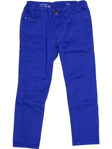 Tejano-Vaquero niña MONOPRIX azul 3 años invierno #1238119_1
