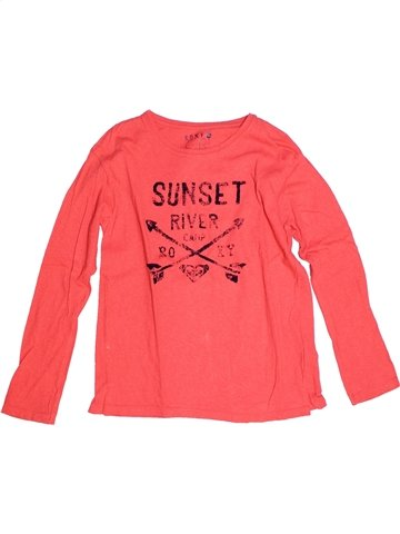 T-shirt manches longues fille ROXY rose 10 ans hiver #1238804_1