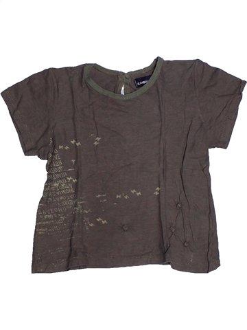 Camiseta de manga corta niña JEAN BOURGET gris 6 años verano #1239656_1