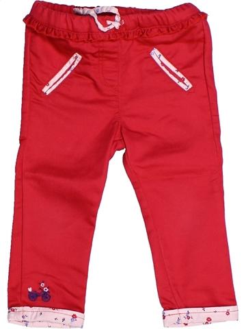 Pantalón niña SERGENT MAJOR rojo 2 años verano #1239770_1