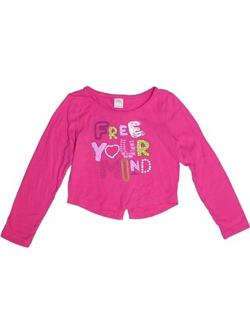 T-shirt manches longues fille S OLIVER rose 7 ans hiver #1242145_1