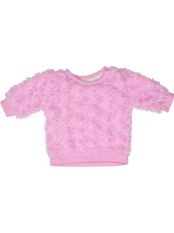 Pull fille ERGEE rose 3 mois hiver #1243283_1