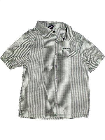 Chemise manches courtes garçon BENCH gris 8 ans été #1243317_1