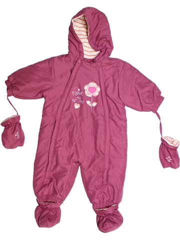 Combi-Pilote fille IN EXTENSO rose 9 mois hiver #1243695_1