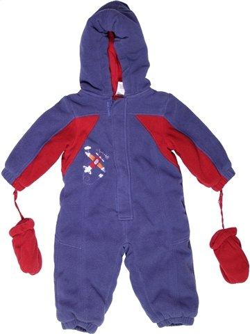 Combi-Pilote garçon SMALL WONDERS bleu 12 mois hiver #1244430_1