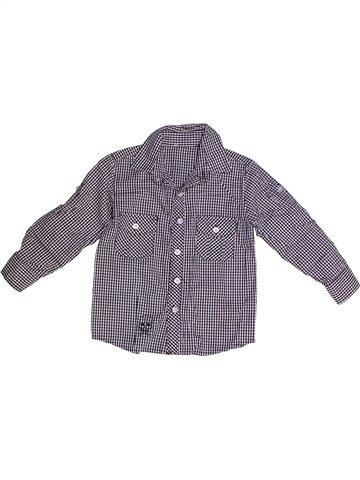 Chemise manches longues garçon DUNNES STORES violet 3 ans hiver #1244790_1