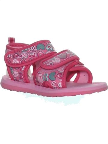 Sandalias niña NABAIJI rosa 25 verano #1244879_1