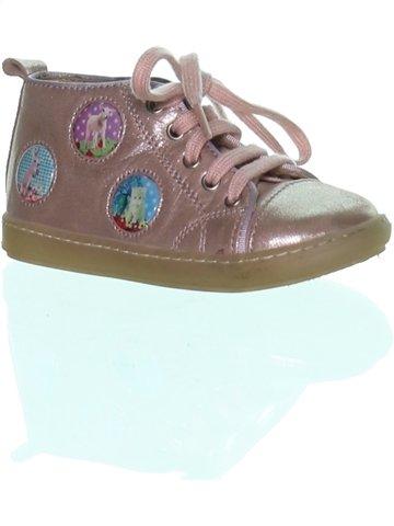 Zapatos con cordones niña POM D'API blanco 24 verano #1245067_1