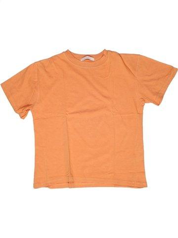 Camiseta de manga corta niño LA REDOUTE CRÉATION naranja 9 años verano #1245615_1