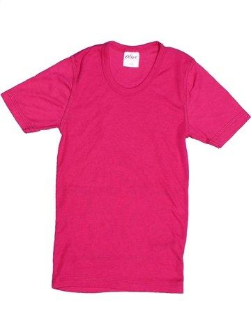 T-shirt manches courtes fille ALIVE rose 8 ans été #1247705_1