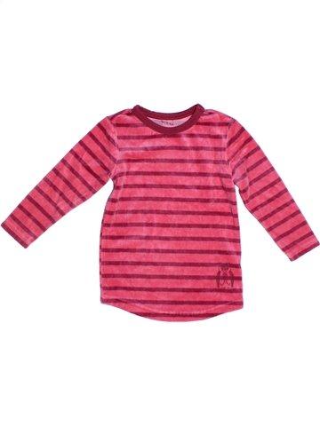 Pijama de 1 pieza niña TCHIBO rosa 2 años invierno #1247964_1