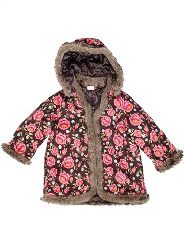 Abrigo niña H&M violeta 18 meses invierno #1248342_1