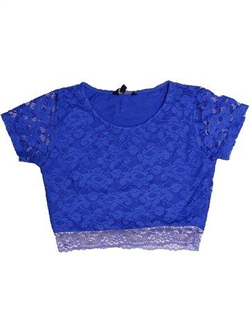 Camiseta de manga corta niña CANDY COUTURE azul 11 años verano #1248451_1