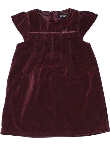 Vestido niña TOUT COMPTE FAIT marrón 2 años invierno #1250336_1