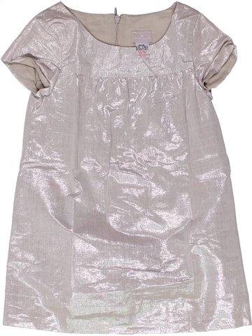Robe fille CYRILLUS gris 4 ans été #1251123_1